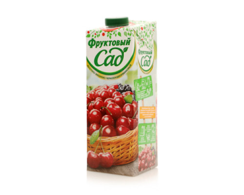 Нектар яблочно-вишнево-черноплодно-рябиновый ТМ Фруктовый Сад