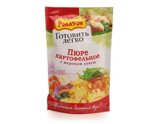 Пюре картофельное с жареным луком ТМ Роллтон