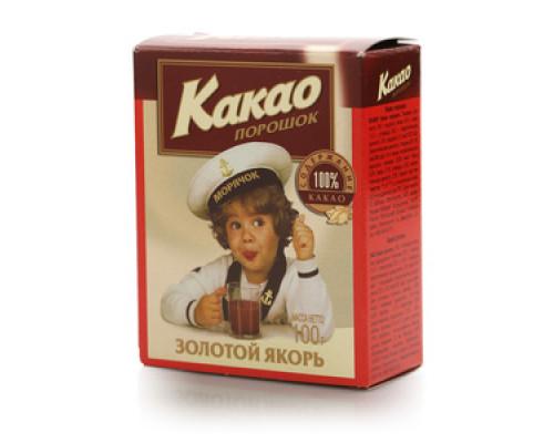 Какао-порошок ТМ Золотой якорь