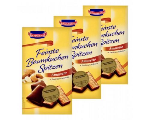 Кекс KuchenMeister (КюхенМейстер) С марципаном, ликером и шоколадом, 125 г