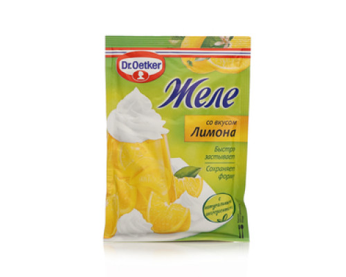 Желе со вкусом лимона ТМ Dr.Oetker (Доктор Оеткер)