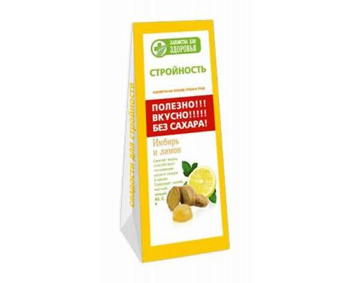 Мармелад Лакомства для здоровья желейный имбирь/лимон на фруктозе 170г