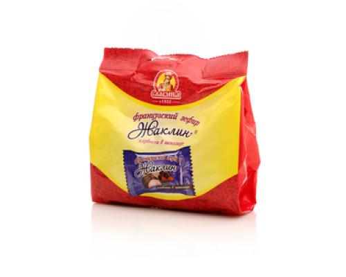 Зефир французский клубника в шоколаде ТМ Жаклин