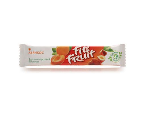 Батончик фруктово-ореховый Абрикос ТМ Fit&Fruit (Фит&Фрут)