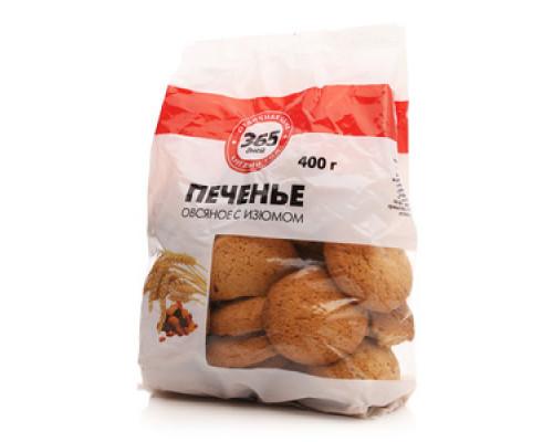 Печенье овсяное с изюмом ТМ 365 Дней