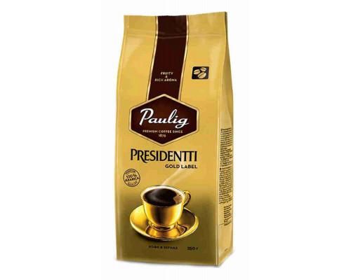 Кофе Paulig Presidentti Gold в зернах 250г