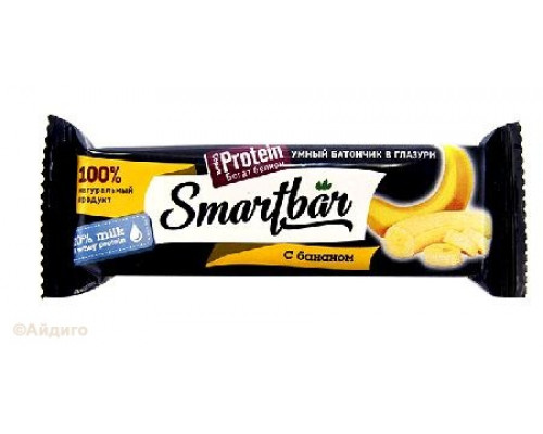 Батончик-мюсли ТМ SmartBar (Смарт Бар) Protein с бананом, 40 г