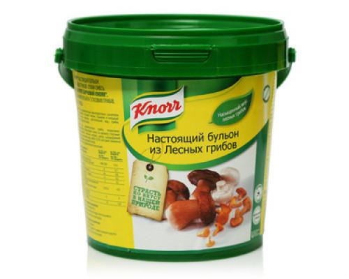 Настоящий бульон из лесных грибов ТМ Knorr (Кнорр)