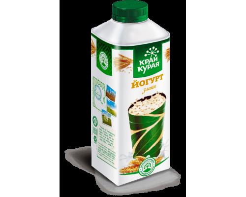 Йогурт ТМ Край Курая, злаки, 1,5%, 750 г