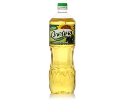 Подсолнечное масло с добавлением оливкового масла ТМ Олейна