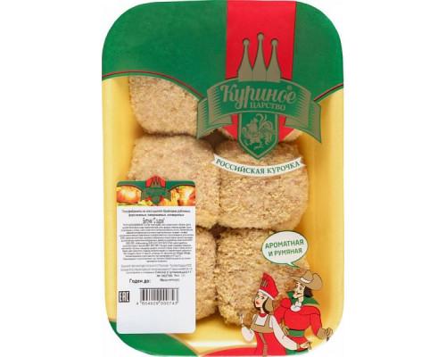 Биточки ТМ Куриное царство, с сыром, 500 г